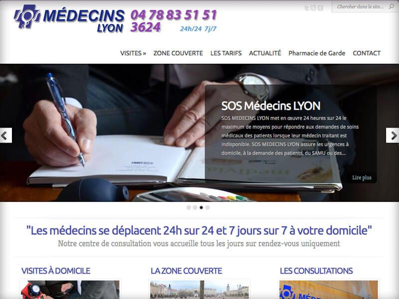 Création d'un site Sos Médecins