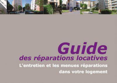 Guide des réparations locatives